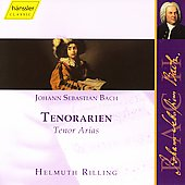 Bach: Tenor Arias / Helmuth Rilling