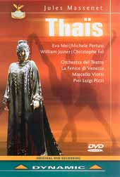Jules Massenet: Thais, Eva Mei, Michele Pertusi, William Joyner, et al / Marcello Viotti [DVD]