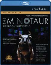 Birtwistle: The Minotaur / Pappano/Royal Opera, Tomlinson, Reuter [Blu-Ray]