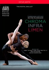 Wayne McGregor: Three Ballets - Chroma, Infra, Limen [DVD]