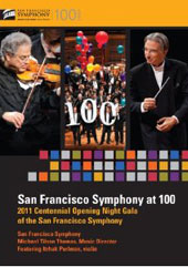 San Francisco Symphony at 100. SF Symphony / Tilson Thomas [DVD]