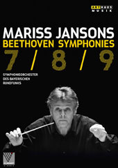 Beethoven: Symphonies Nos. 7, 8 & 9 / Bavarian Radio SO, Mariss Jansons (live, Suntory Hall, Tokyo, 2012)  [DVD]