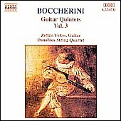 Boccherini: Guitar Quintets Vol. 3
