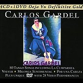 Carlos Gardel: Definitive Gold [Bonus DVD] [Box]