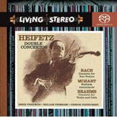 Bach, Mozart, Brahms: Concertos / Jascha Heifetz, et al