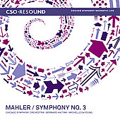 Mahler: Symphony no 3 / Haitink, DeYoung, Chicago SO