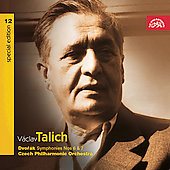 Vaclav Talich Special Edition Vol 12-Dvor&#225;k: Symphonies 6-7