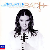 Bach: Inventions and Partita / Jansen, Rysanov, Thedeen