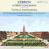 Lebrun: Six Oboe Concertos / Inderm&uuml;hle, et al