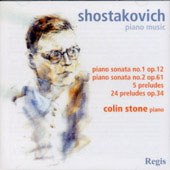 Shostakovich: Piano Music / Colin Stone