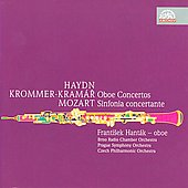 Haydn, Drommer-Kram&aacute;r, Mozart: Oboe Concertos / Frantisek Hant&aacute;k, et al