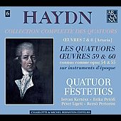 Haydn: Les Quatuors Oeuvres 59 & 60