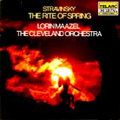 Stravinsky: Rite of Spring / Maazel, Cleveland Orchestra