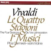 Vivaldi: The Four Seasons / Pina Carmirelli, I Musici