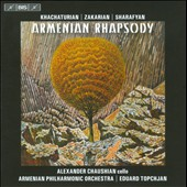 Armenian Rhapsody / Khachaturian, Zakarian, Sharafyan and Komitas