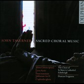 Taverner: Sacred Choral Music / Ferguson, St. Mary's Cathedral Choir