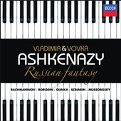 Russian Fantasy: Piano Duets by Mussorgsky, Rachmaninoff and Glinka  / Vladimir and Vovka Ashkenazy