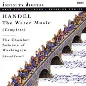 Handel: The Water Music (Complete) / Edward Carroll