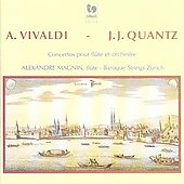 Vivaldi, Quantz: Flute Concertos / Magnin, Zurich Baroque
