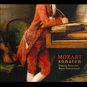 Mozart: Violin Sonatas / Francois Fernandez, violin; Boyan Vodenitcharov, keyboard