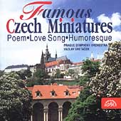 Famous Czech Miniatures / Smet&#225;cek, Prague SO