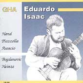 Guitar Recital by Eduardo Isaac -Piazzolla, Bogdanovic et al