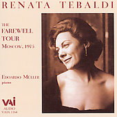Renata Tebaldi - The Farewell Tour
