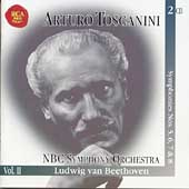 Immortal Toscanini Vol 2 - Beethoven: Symphonies no 5-8