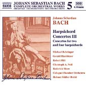 Naxos Bach Edition 5 - Bach: Harpsichord Concertos III