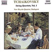 Tchaikovsky: String Quartets Vol 1 / New Haydn Quartet