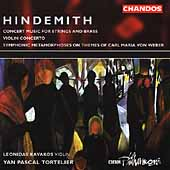 Hindemith: Symphonic Metamorphosis, etc / Kavakos, et al