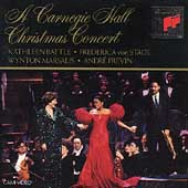 A Carnegie Hall Christmas Concert / Battle, Von Stade, et al