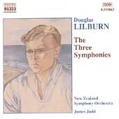 Lilburn: The Three Symphonies / Judd, New Zealand Symphony