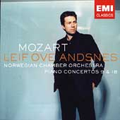 Mozart: Piano Concertos no 9 & 18 / Andsnes, Norwegian CO