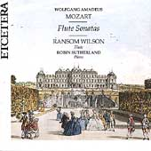 Mozart: Flute Sonatas / Ransom Wilson, Robin Sutherland