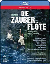 Mozart: Die Zauberflöte (The Magic Flute) / Schmitt, Landshamer, Oliemans et al.; Netherlands CO; Dutch Nat'l Opera Chorus; Albrecht [Blu-ray]