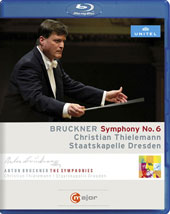 Bruckner: Symphony No. 6 / Christian Thielemann, Staatskapelle Dresden [Blu Ray Video]