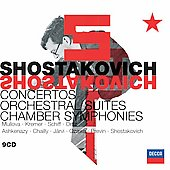 Shostakovich: Concertos, Orchestra Suites, etc