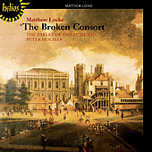 Locke: The Broken Consort / Holman, Parley of Instruments