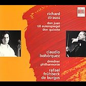 Strauss: Don Juan, etc / Fr&#252;hbeck de Burgos, Bohorquez, etc