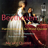 Beethoven: Harmoniemusick for Wind Quintet / Ma'alot Quintet