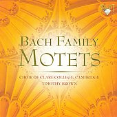 Bach Family Motets / Timothy Brown