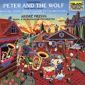 Prokofiev: Peter and the Wolf;  Britten / Previn, Royal PO