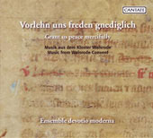 Grant us peace mercifully - Music from the Walsrode Convent / Volkhardt, Devotio moderna
