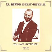 Il Mito Dell'Opera - William Matteuzzi