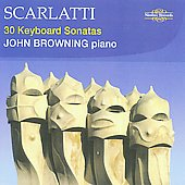 Scarlatti: 30 Keyboard Sonatas / John Browning