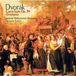 Dvor&aacute;k: Czech Suites Op. 39; Overtures / Theodore Kuchar - Janacek PO