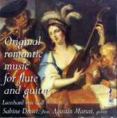 Original Romantic Music for Flute and Guitar - Duos and serenades by Leonhard von Call (1779-1815) / Sabine Dreier, flute; Agustin Maruri, guitar