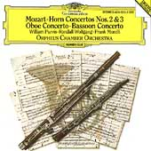Mozart: Horn Concertos 2 & 3, etc / Orpheus CO