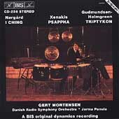Xenakis, Norg&aring;rd / Gert Mortensen, Solo Percussion